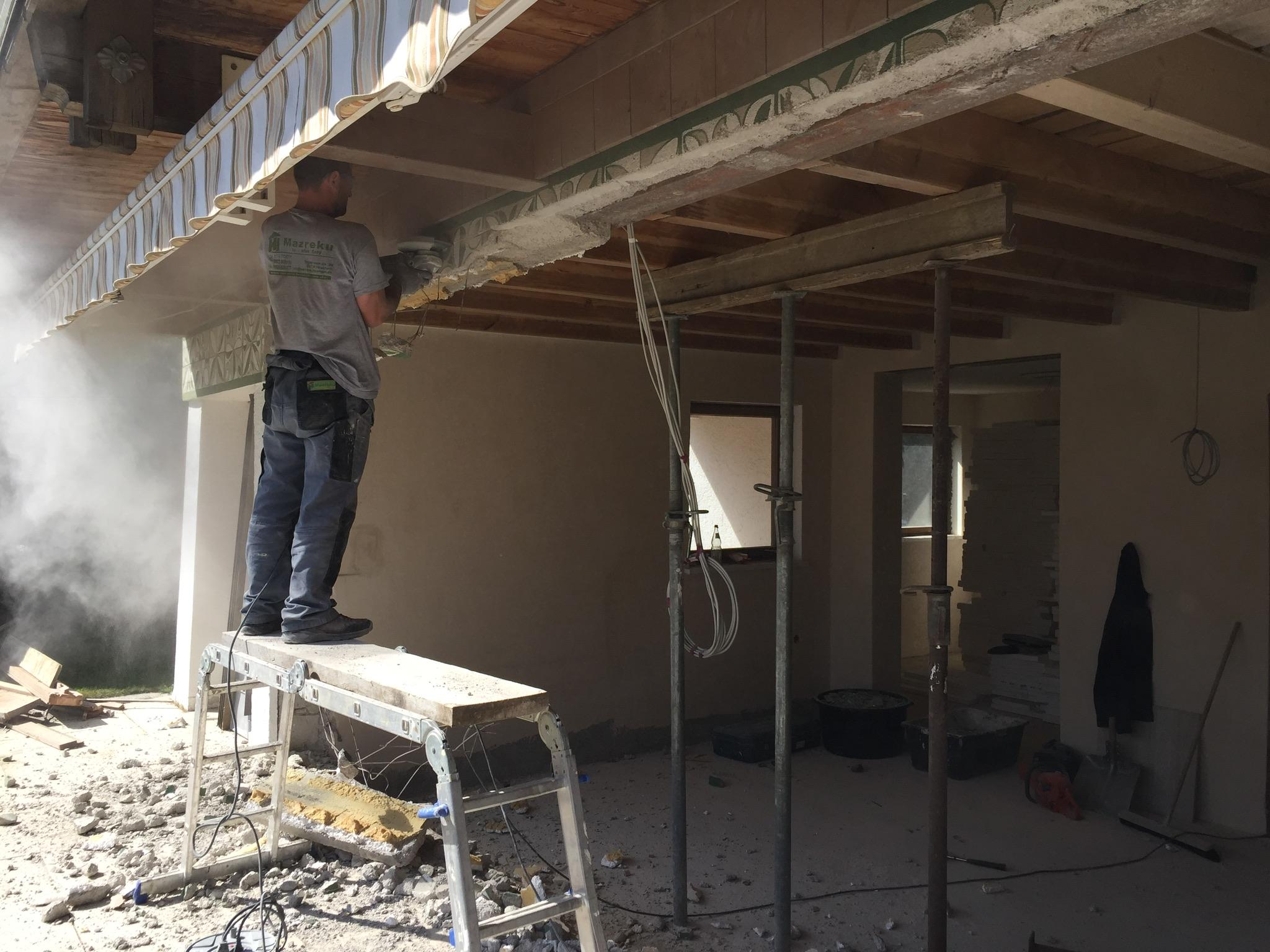 umbau renovierung sanierung mazrekubau bauunternehmen miesbach. Black Bedroom Furniture Sets. Home Design Ideas